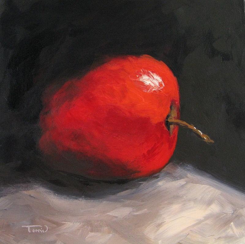 """Apple 02"" original fine art by Torrie Smiley"