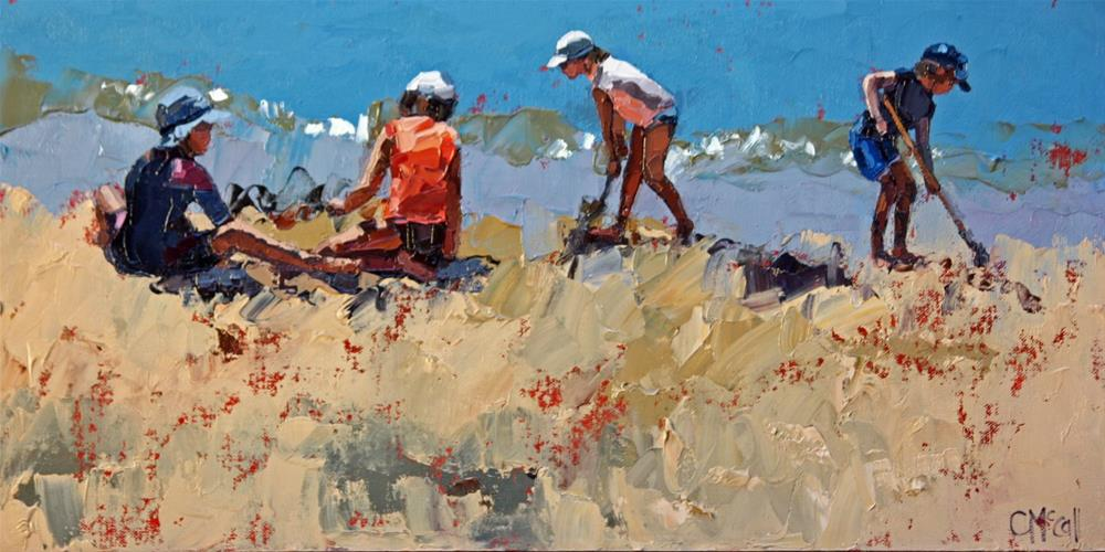 """""""Summer's Day IV"""" original fine art by Claire McCall"""