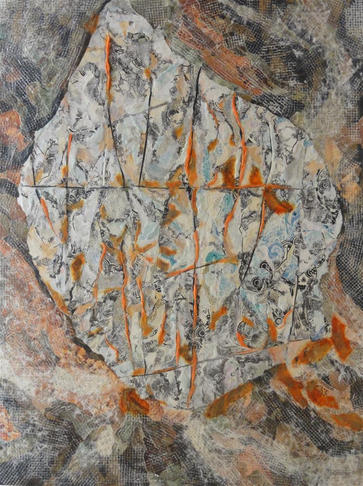 """""""Interstitial"""" original fine art by Cynthia Frigon"""