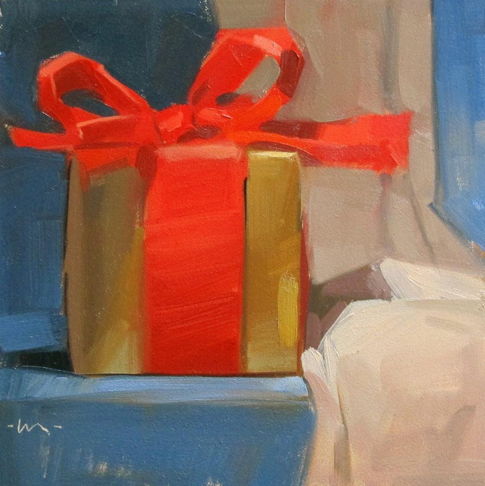 """The Greatest Gift"" original fine art by Carol Marine"