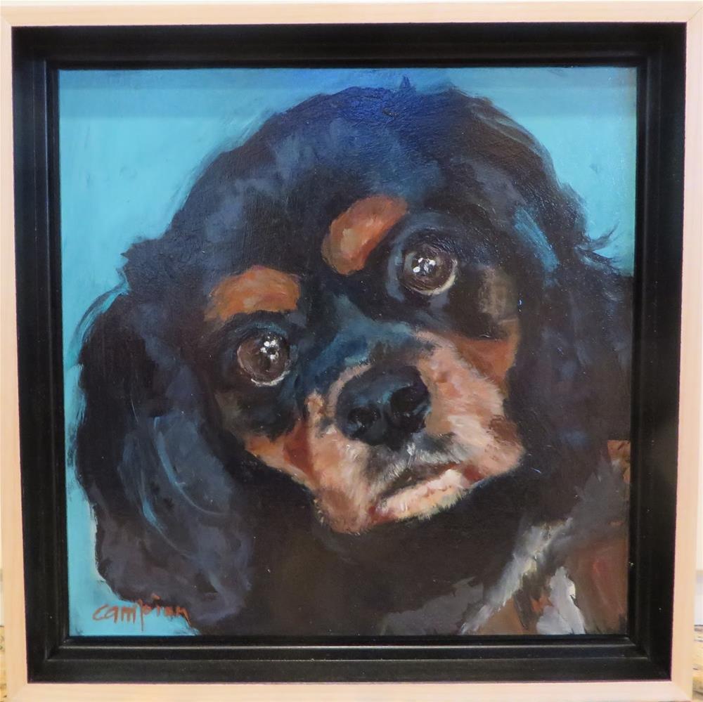 """753 Teddy"" original fine art by Diane Campion"