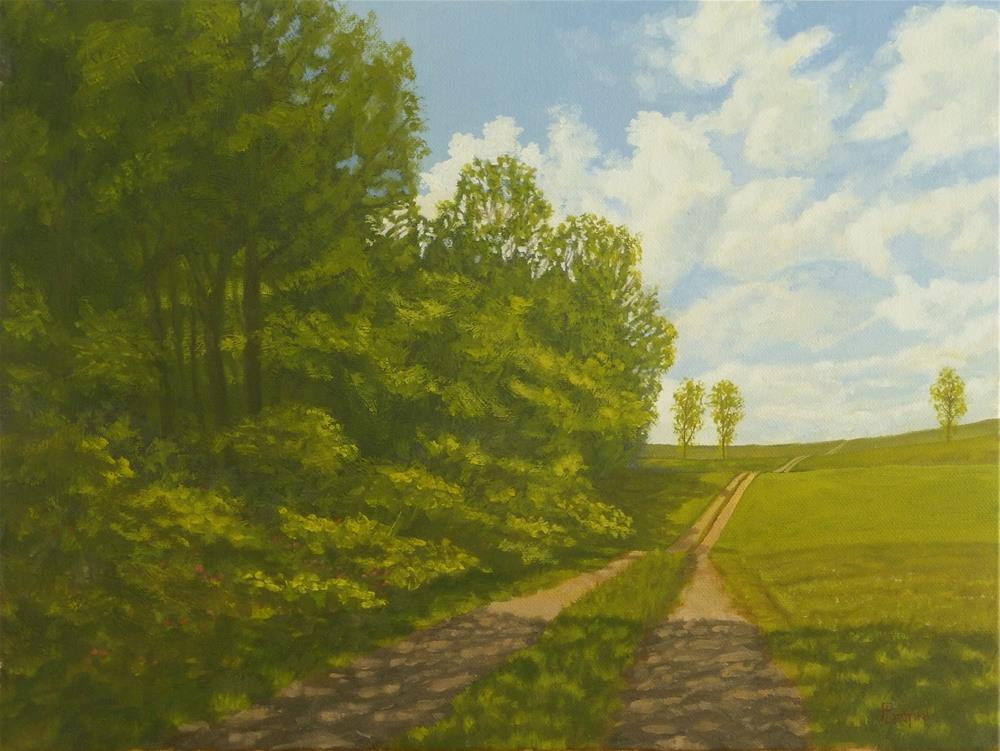 """Summer Passing"" original fine art by Peter Lentini"