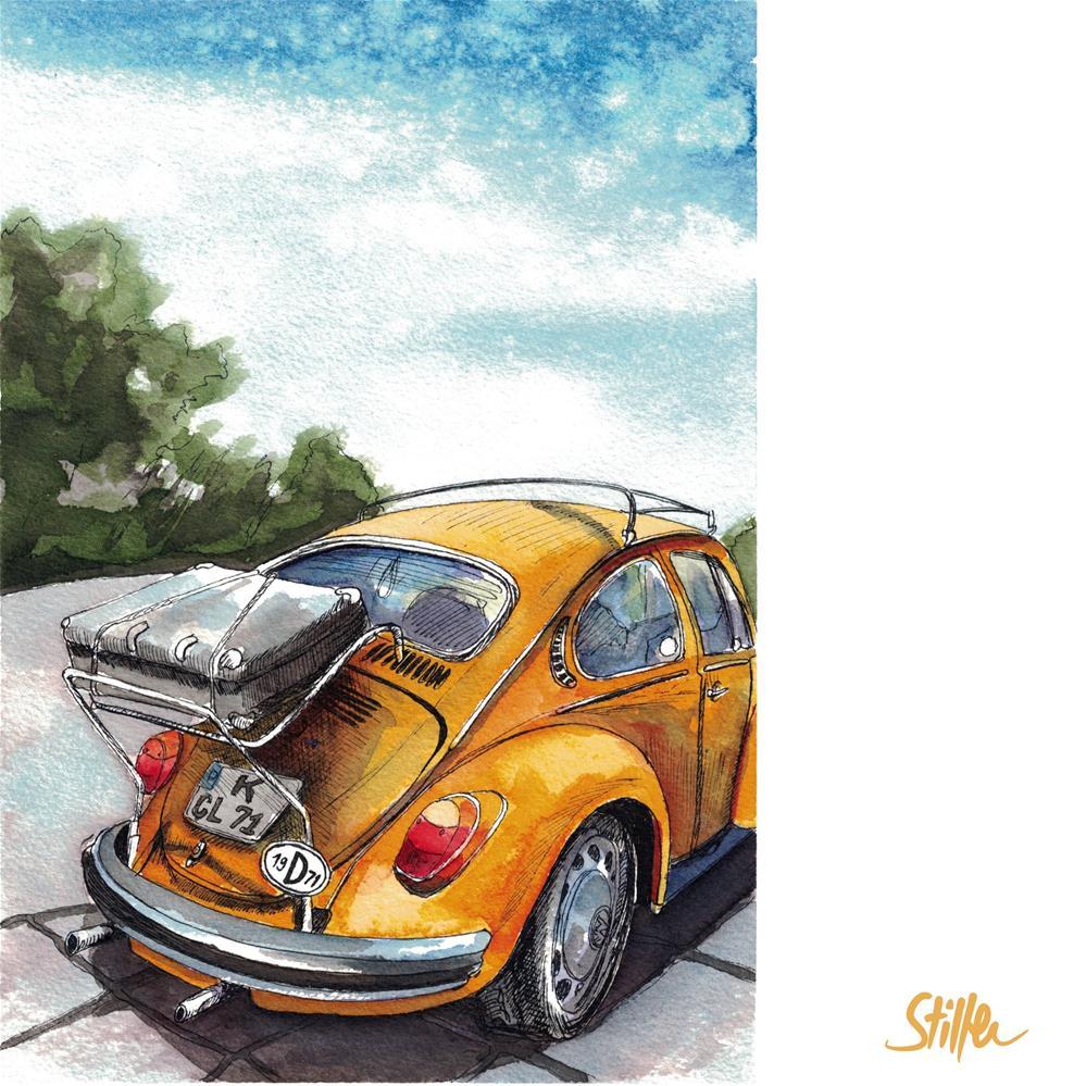 """""""3569 Beetle"""" original fine art by Dietmar Stiller"""