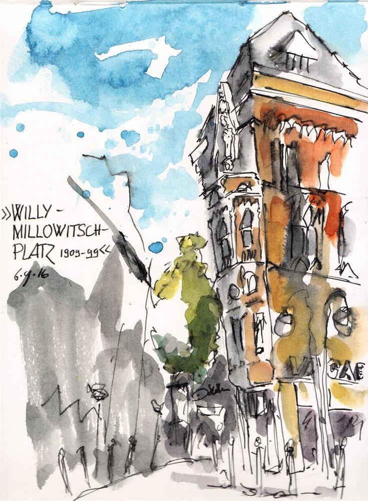 """""""1847 Willy"""" original fine art by Dietmar Stiller"""