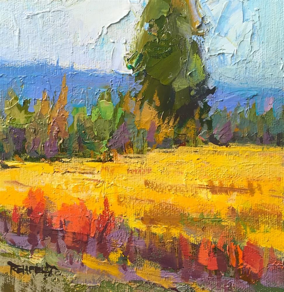 """Ponderosa"" original fine art by Cathleen Rehfeld"