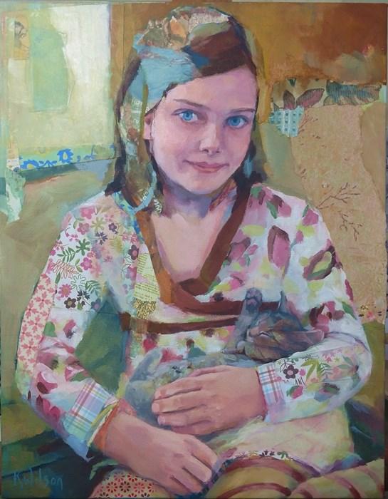 """Celia"" original fine art by Katie Wilson"