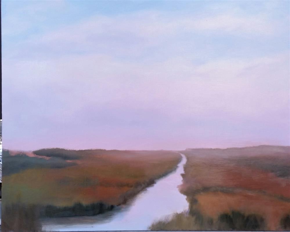 """Highway 37 #1"" original fine art by Kim Homes"