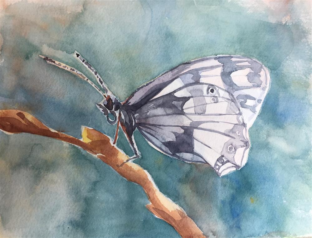 """Fragile beauty"" original fine art by Natasha Ramras"
