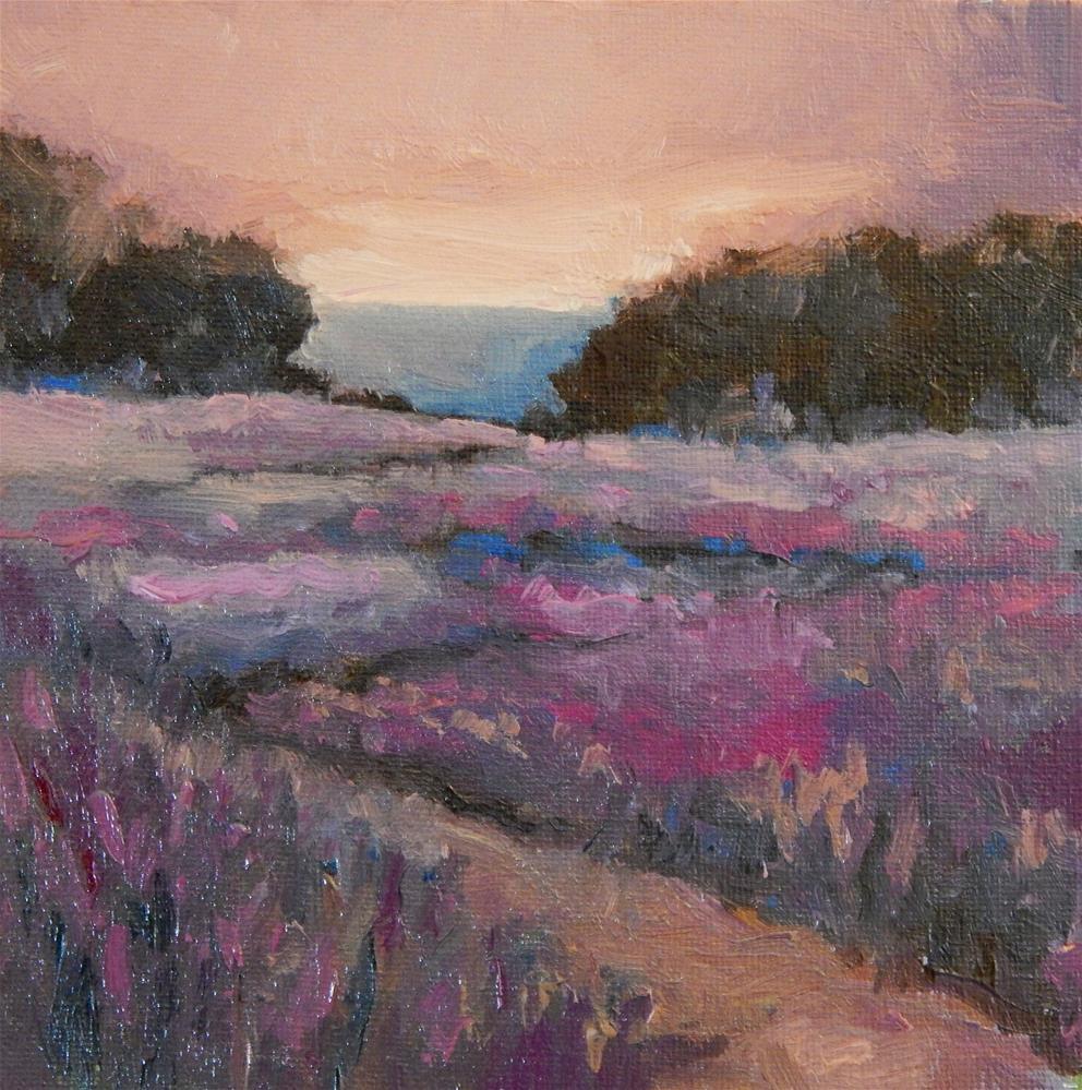 """Magenta Dawn"" original fine art by Lisa Kyle"