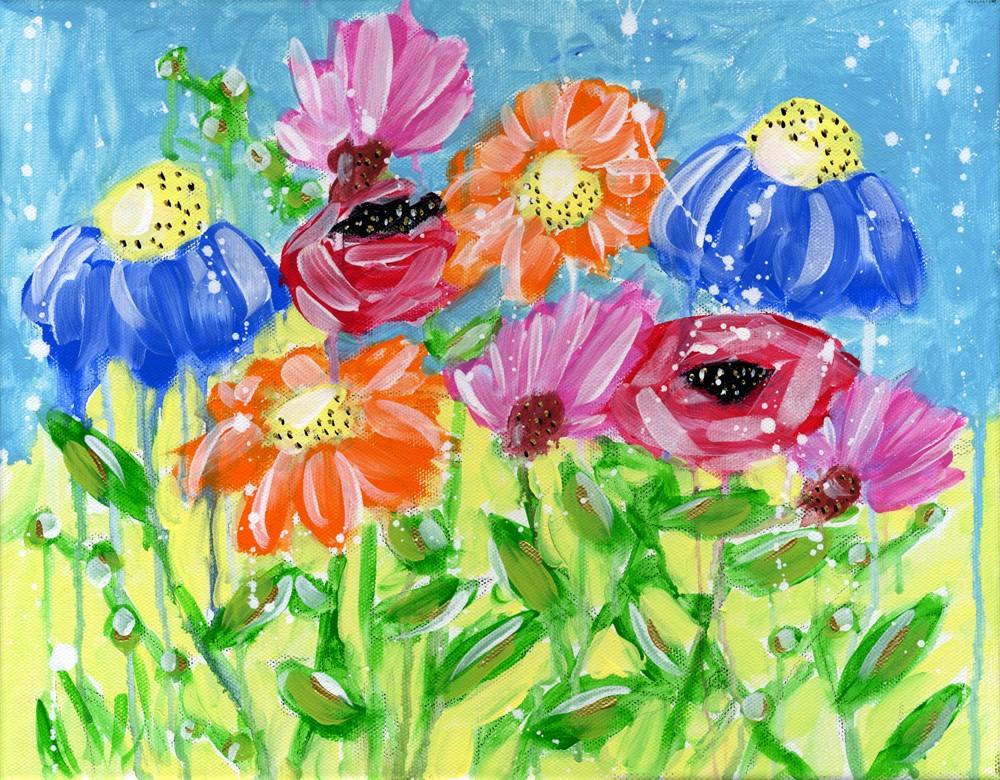 """My Bliss"" original fine art by Kali Parsons"
