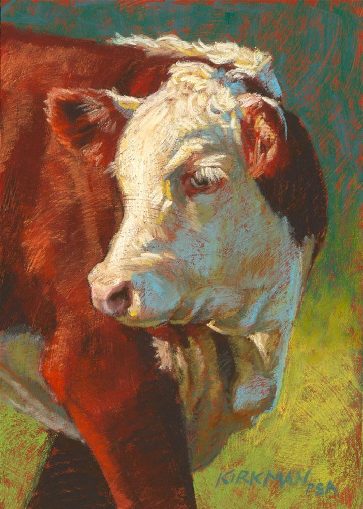"""McDuff"" original fine art by Rita Kirkman"