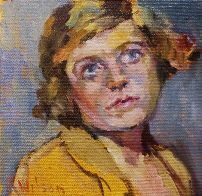 """Small Series 1"" original fine art by Katie Wilson"