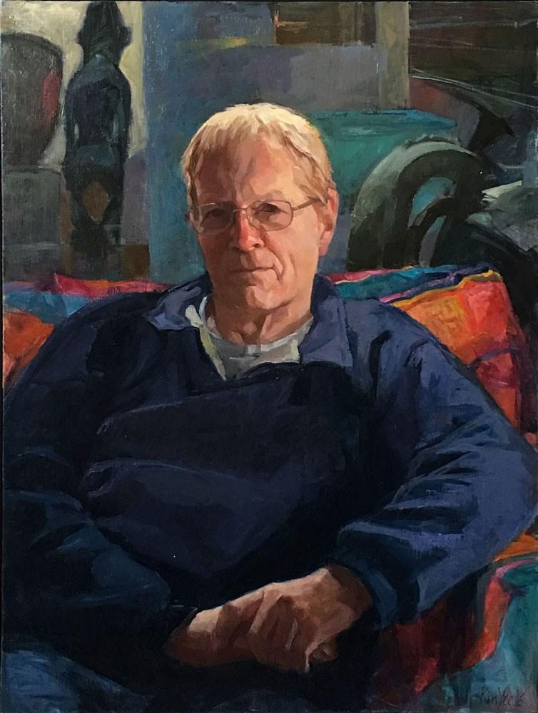 """Through the Looking Glass, Martin Wesley-Smith"" original fine art by Myriam Kin-Yee"
