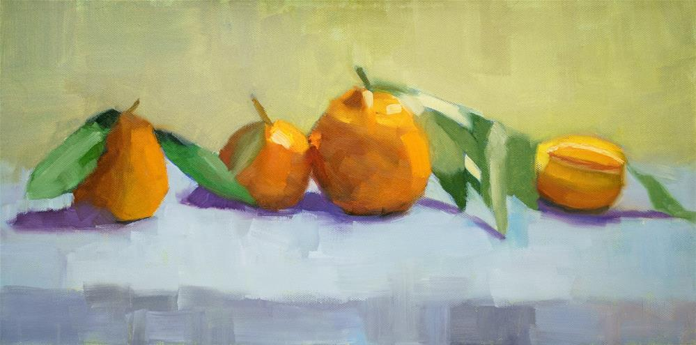 """Mandarin Debut"" original fine art by Johnna Schelling"