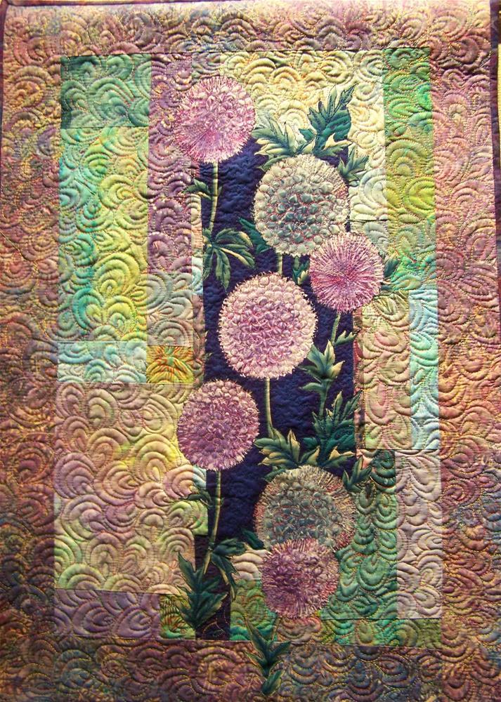 """Alium"" original fine art by Joan Reive"