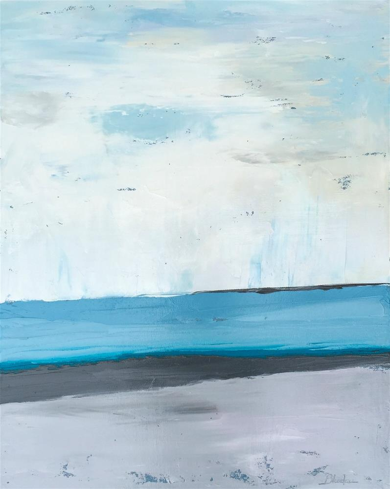 """Serenity"" original fine art by Janet Bludau"