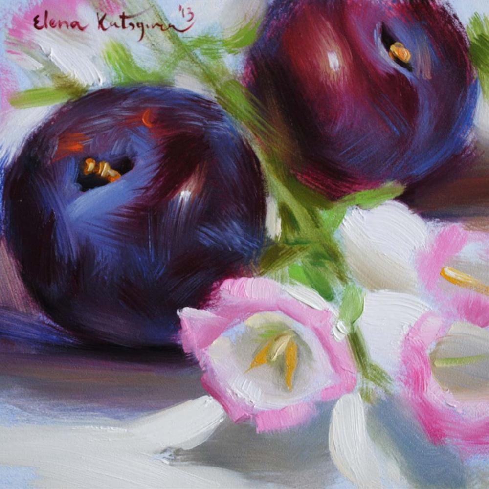 """Nature's Gifts"" original fine art by Elena Katsyura"