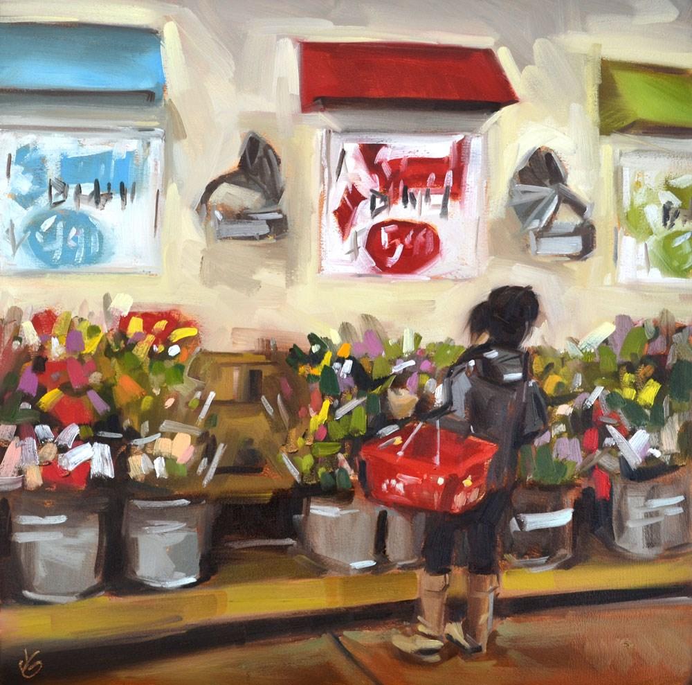 """Decisions"" original fine art by Jessica Green"