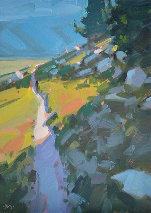 """Path to Ritter"" original fine art by Carol Marine"