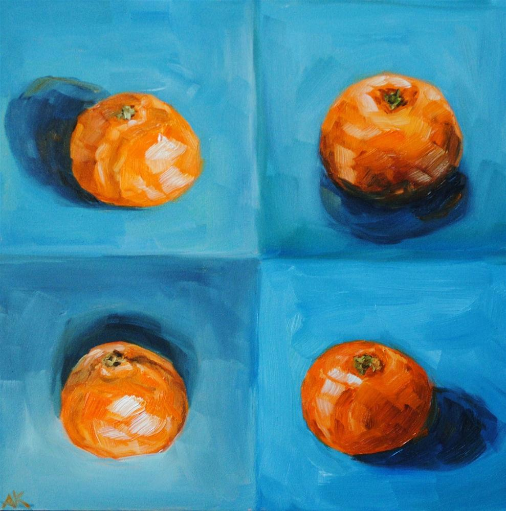 """Clementine Study"" original fine art by Alison Kolkebeck"