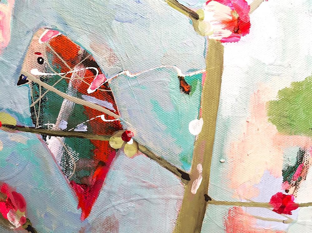 """Bird_OCT102015"" original fine art by Jenny Doh"