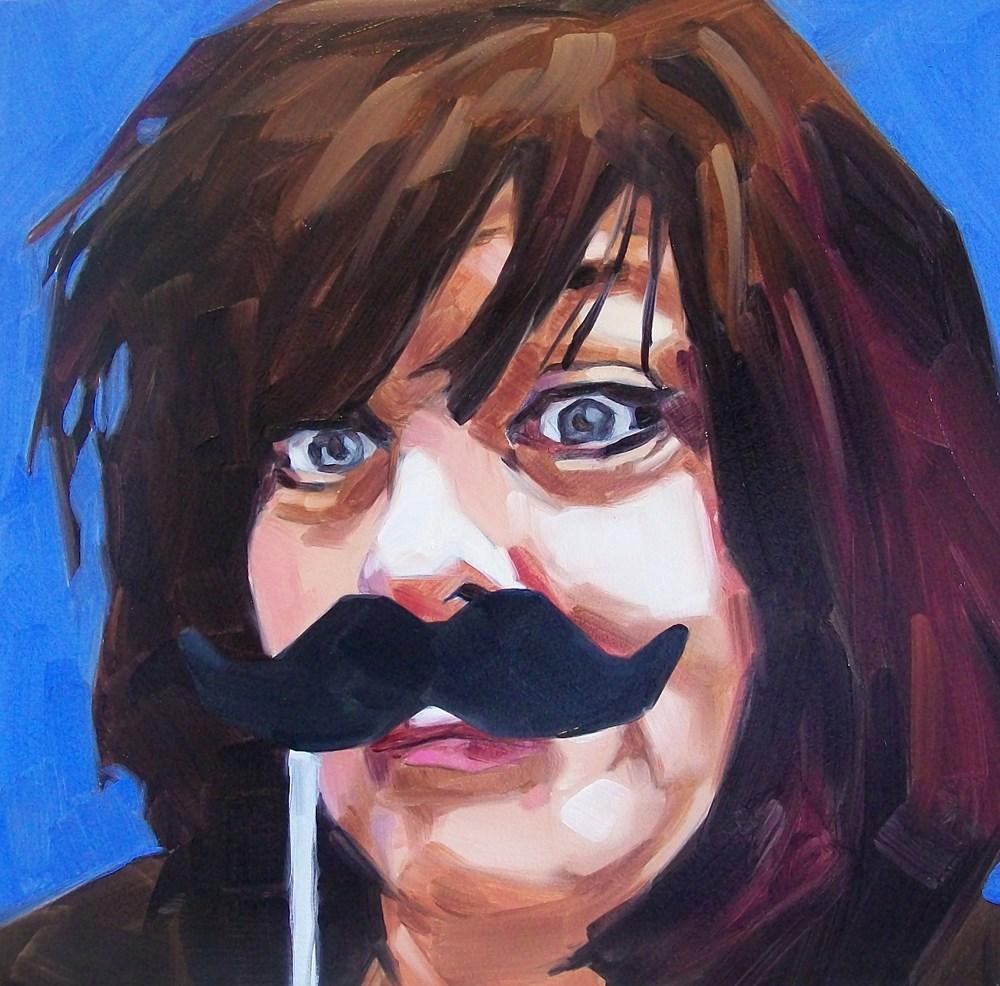"""Disguise"" original fine art by Brandi Bowman"