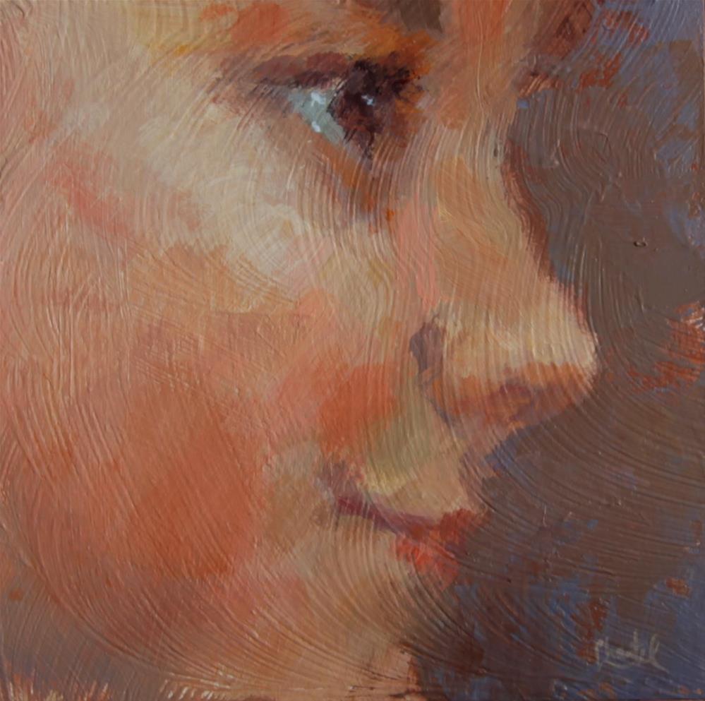 """Hope"" original fine art by Chantel Barber"