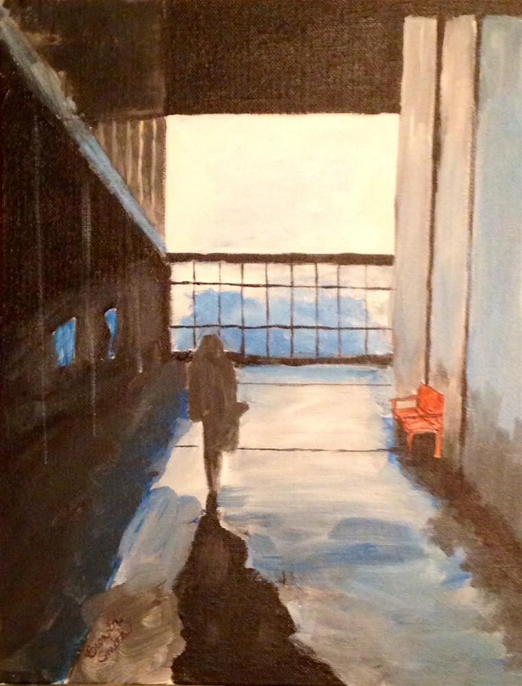 """Shadows"" original fine art by Brenda Smith"