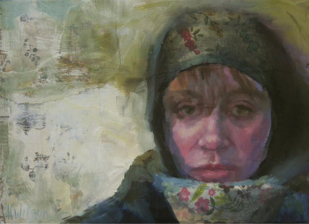"""Winter Morn"" original fine art by Katie Wilson"