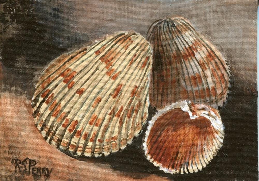 """Cockles"" original fine art by R. S. Perry"