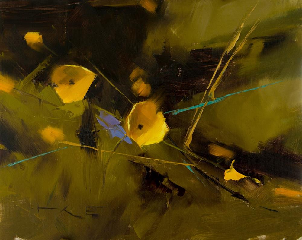 """Buttercups 2"" original fine art by Thorgrimur Andri Einarsson"