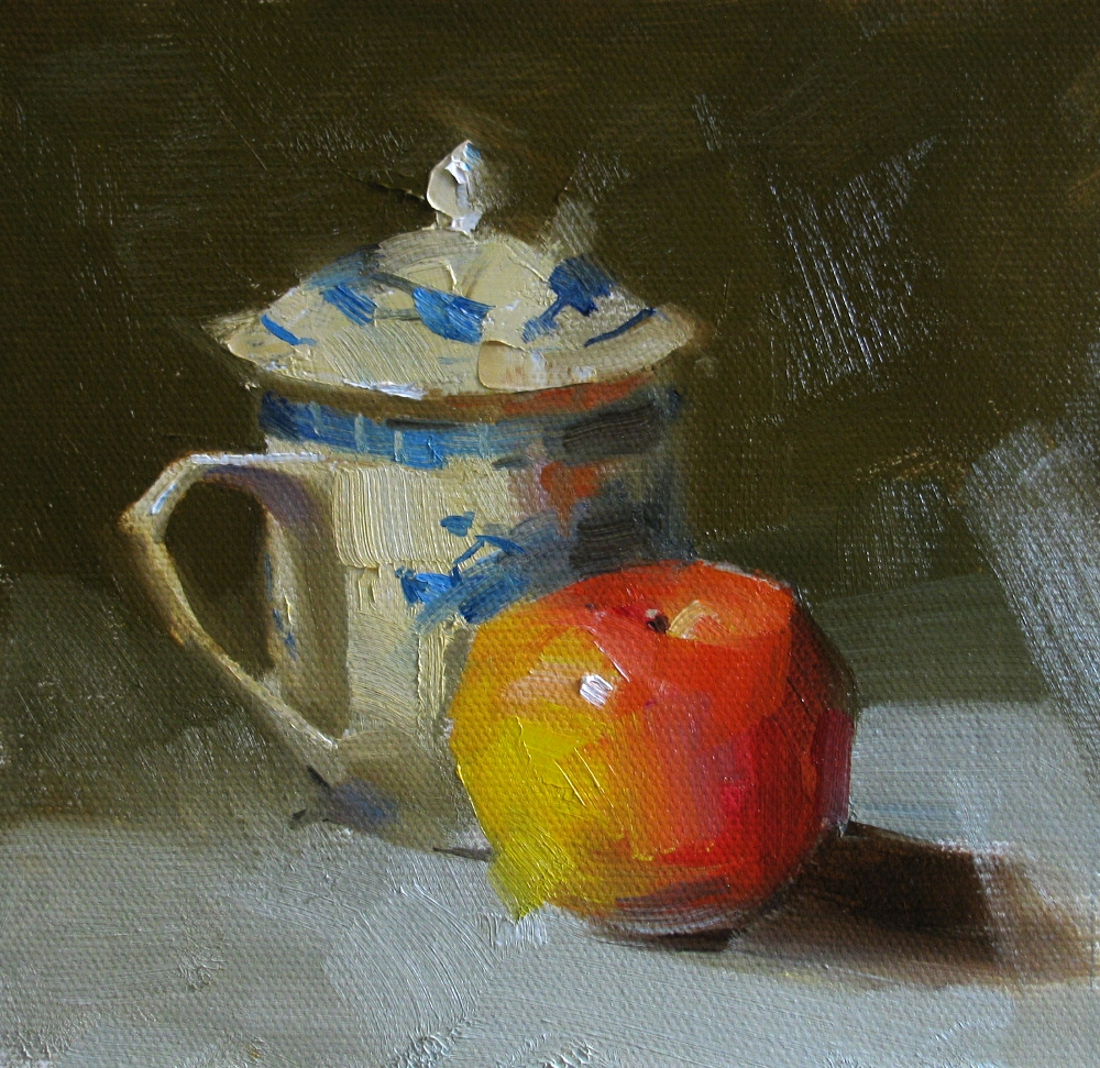 """Chinese Tea"" original fine art by Qiang Huang"