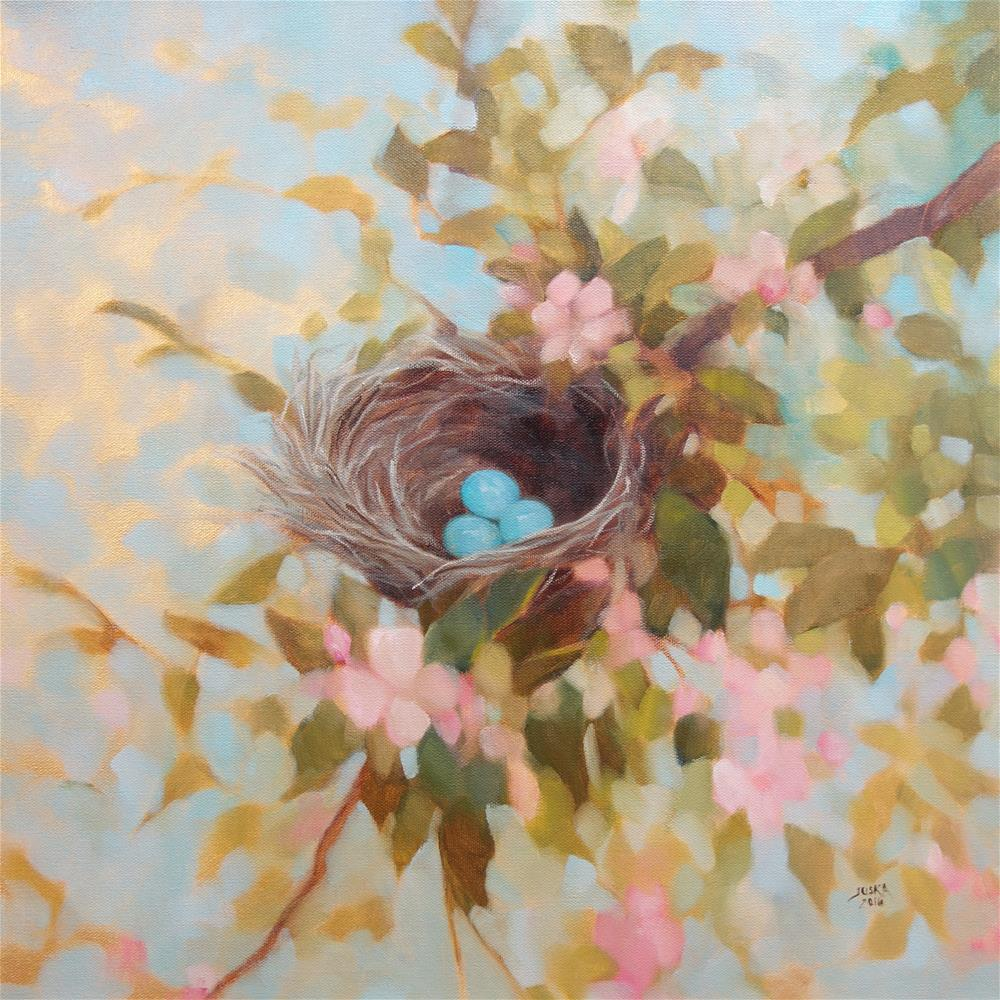 """Promises"" original fine art by Elaine Juska Joseph"