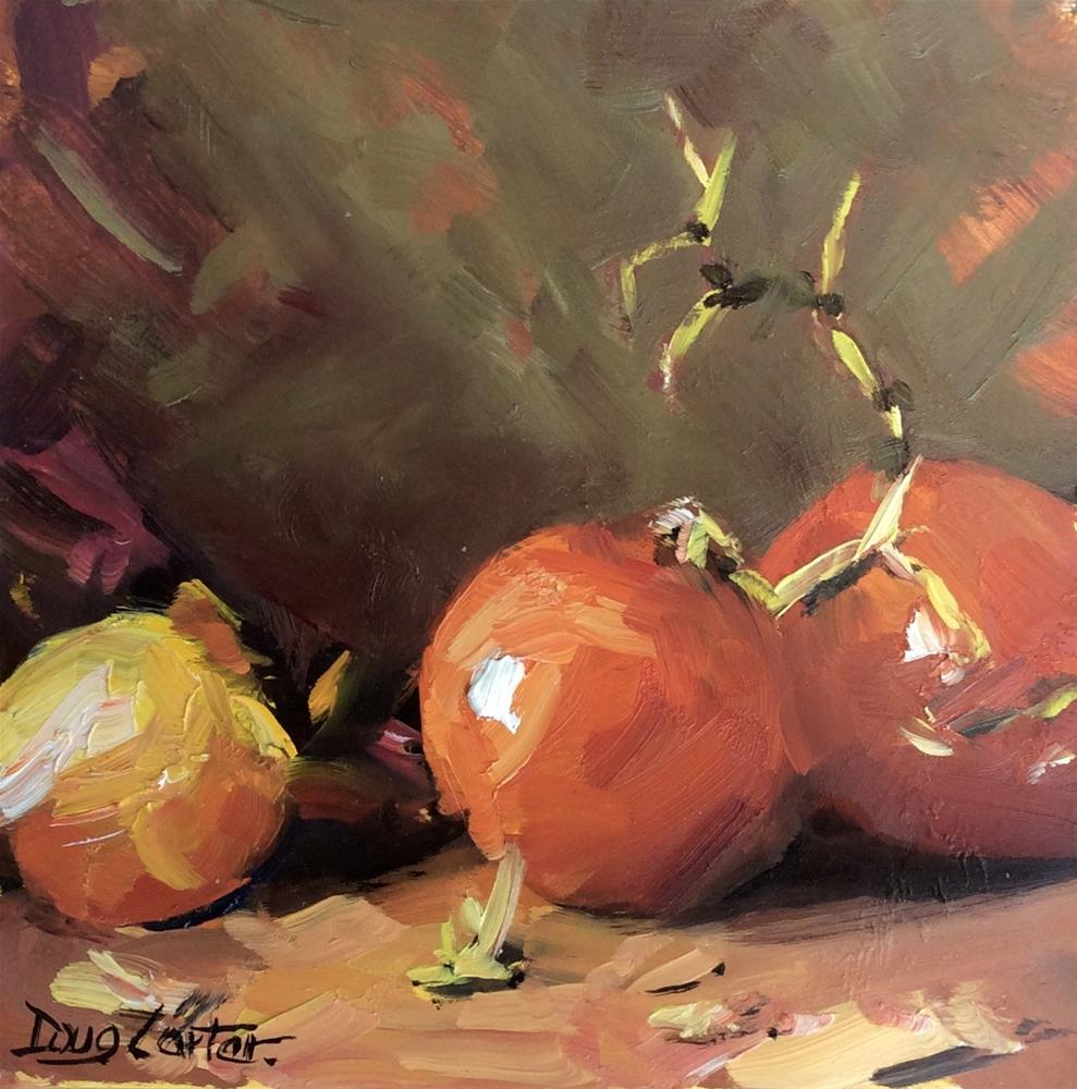 """Cozy Bunch"" original fine art by Doug Carter"
