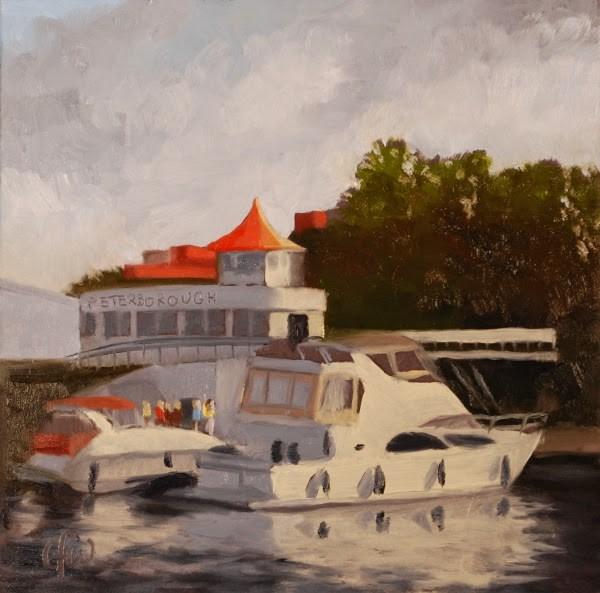 """Peterborough Marina"" original fine art by Gary Westlake"