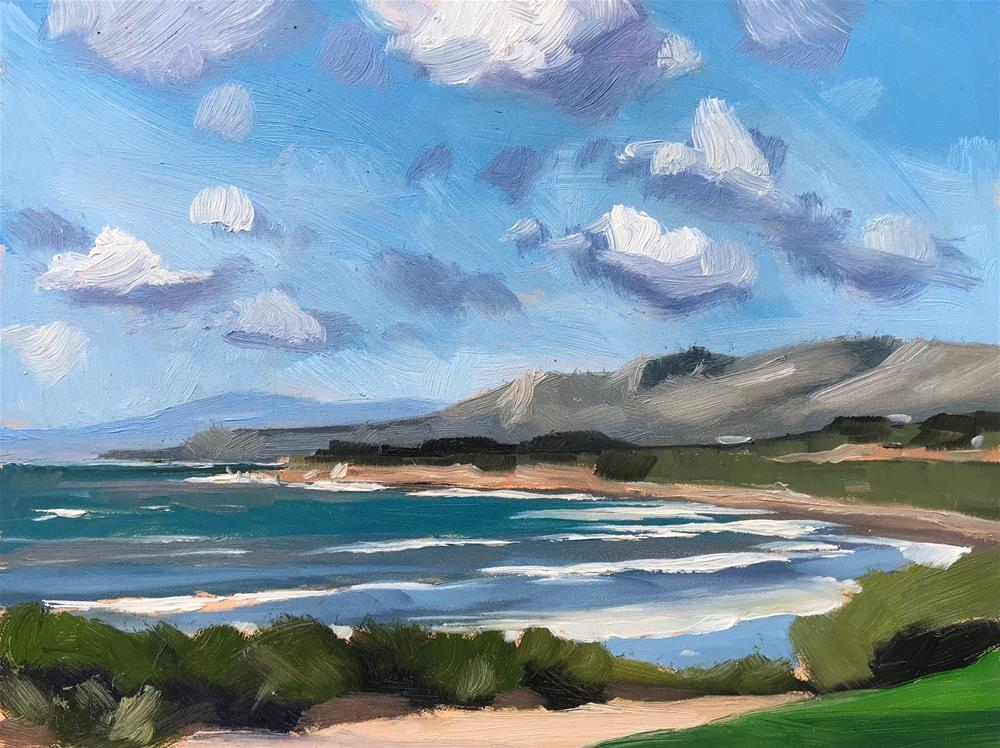 """View from Rincon"" original fine art by Sharon Schock"