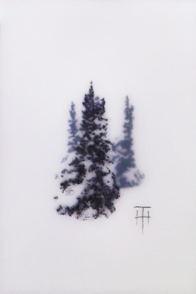 """""""Mountain Gems VI"""" original fine art by Terri Heinrichs"""