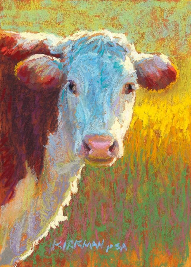 """Dalhia"" original fine art by Rita Kirkman"
