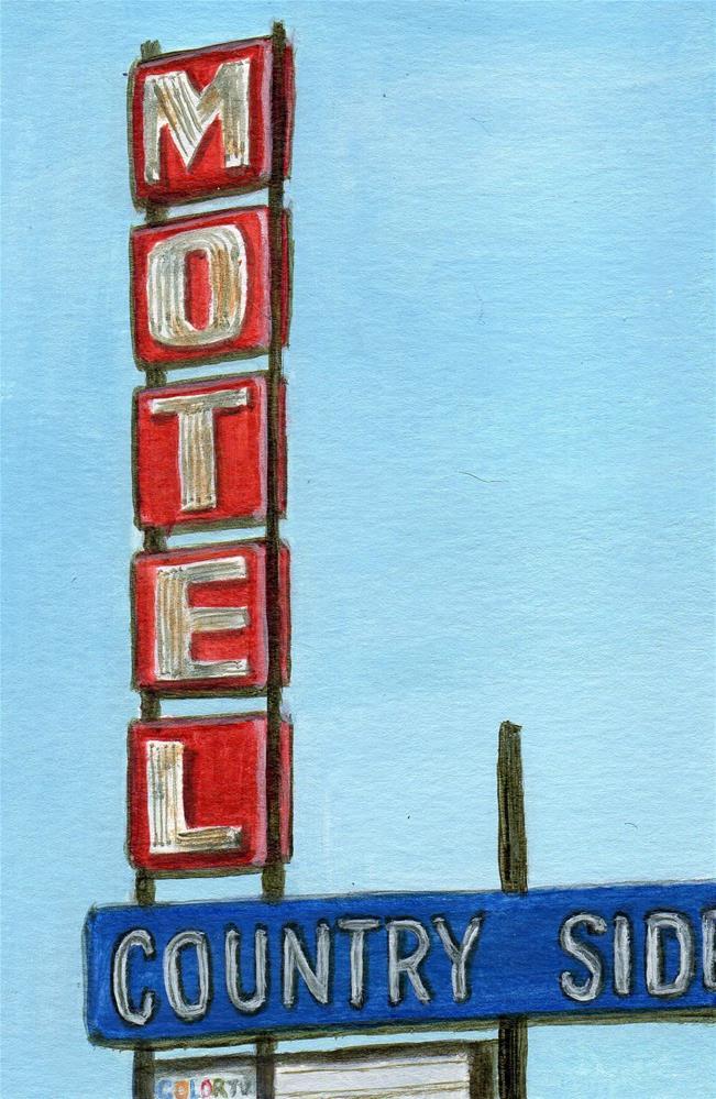 """Country Side"" original fine art by Debbie Shirley"
