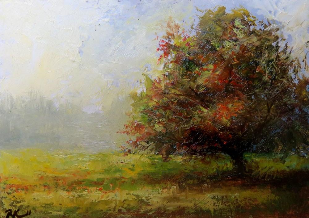 """Getting Green Again"" original fine art by Bob Kimball"