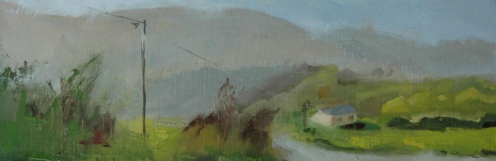 """CROATIA"" original fine art by Linda Popple"