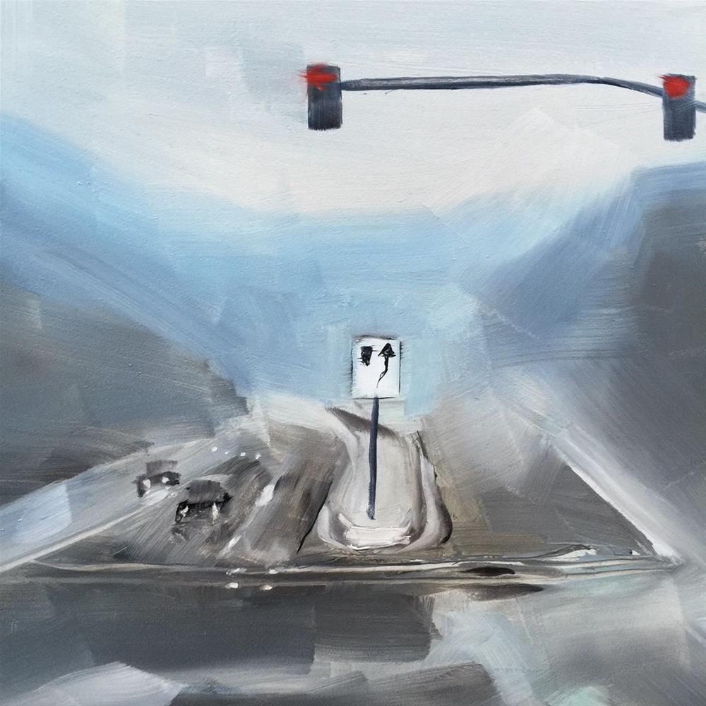 """""""223 Onward"""" original fine art by Jenny Doh"""