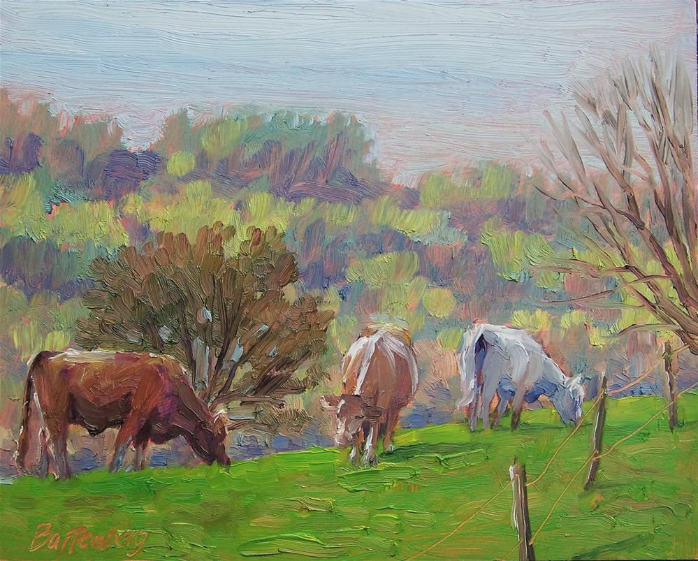 """""""On Top the Hill"""" original fine art by Mike Battenberg"""