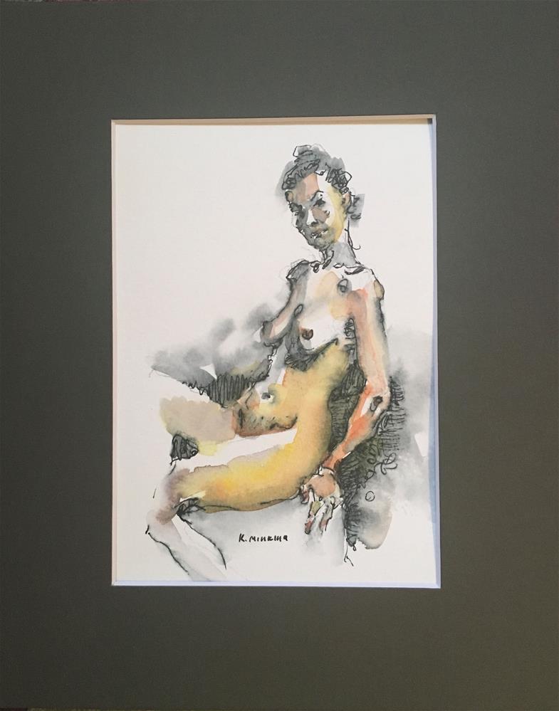 """Figuary38"" original fine art by Katya Minkina"
