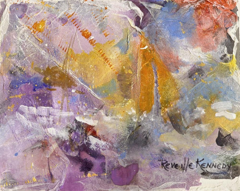 """Stars. Sails and Sea"" original fine art by Reveille Kennedy"