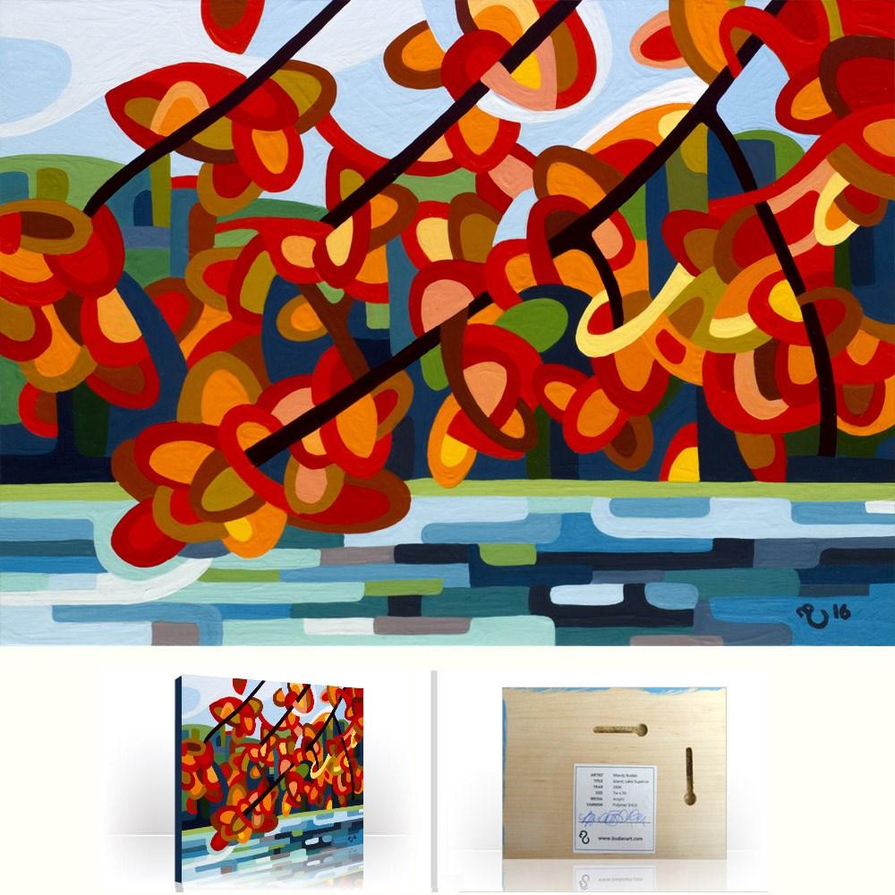 """Landscape Study #98"" original fine art by Mandy Budan"