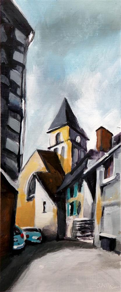 """2185 Chemin d'Eglise"" original fine art by Dietmar Stiller"
