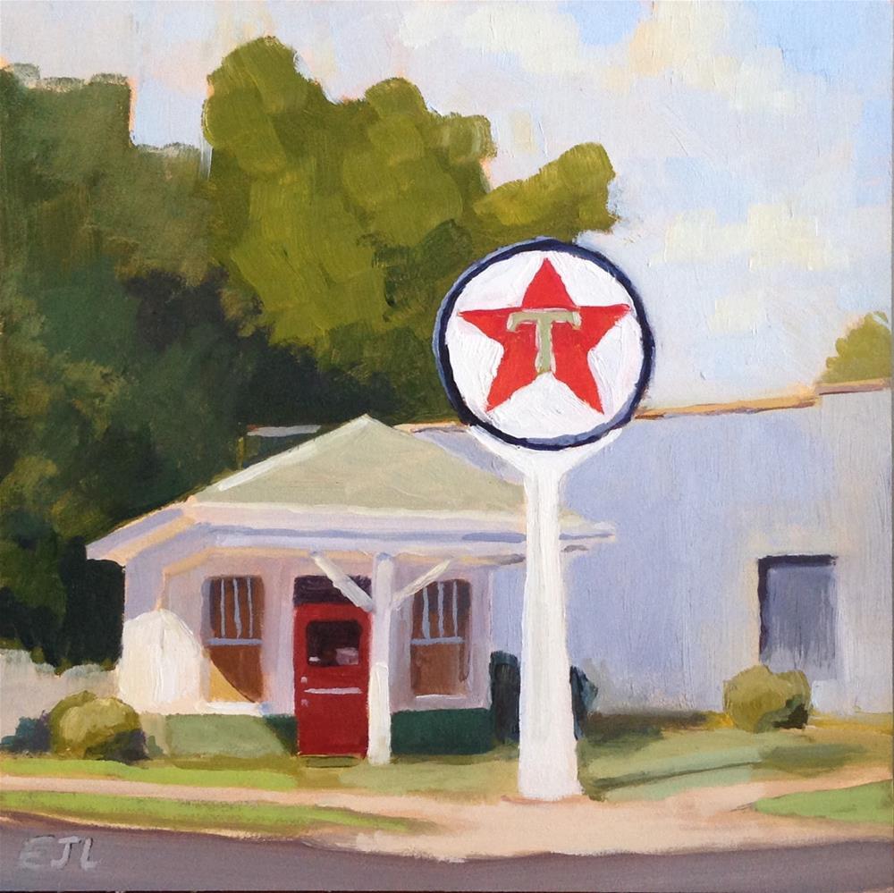 """Lowertown Texaco - Paducah Arts District"" original fine art by Eric Larson"