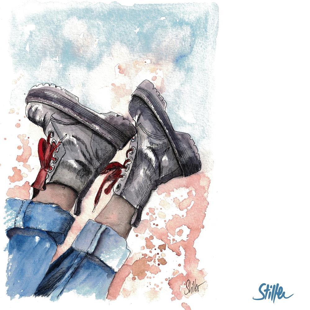 """3692 Bootsy"" original fine art by Dietmar Stiller"