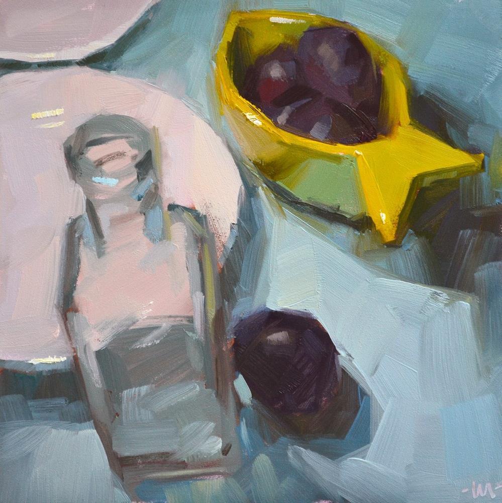 """On a Journey"" original fine art by Carol Marine"